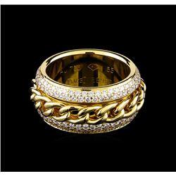 1.25 ctw Diamond Ring - 18KT Yellow Gold