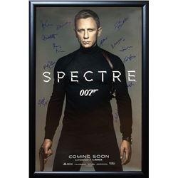 James Bond Signed Movie Poster