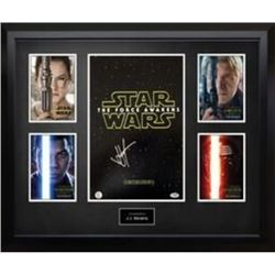 Signed Star Wars The Force Awakens Mini Poster Collage