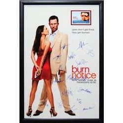 Burn Notice Signed Movie Poster