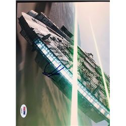 Star Wars Millennium Falcon signed Photograph 8x10
