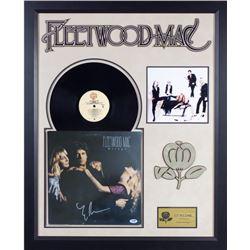Fleetwood Mac Mirage Signed Album Collage PSA