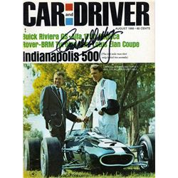 Signed Carroll Shelby Magazine
