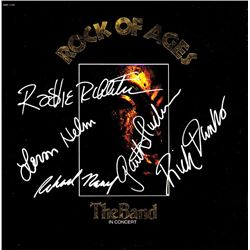 The Band Band Signed Rock Of Ages Album