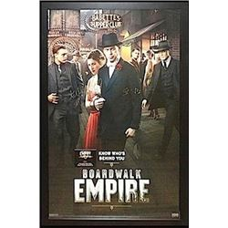 Boardwalk Empire signed Movie Poster