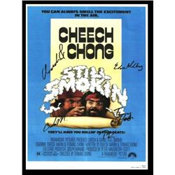 Cheech and Chong Signed Movie Poster