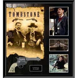 Tombstone Signed Gun and Movie Collage PSA