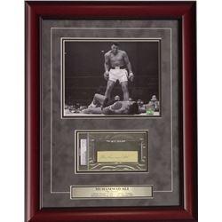 Muhammad Ali boxing collage