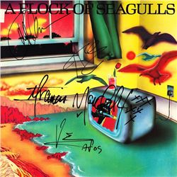 A Flock Of Seagulls signed Album