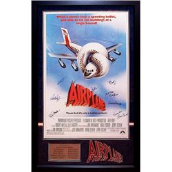 Airplane Signed Movie Poster