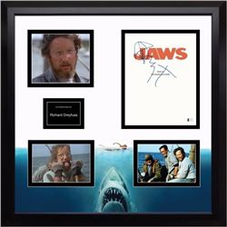 Jaws Signed Screenplay and Photo Collage