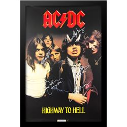 AC/DC Signed Poster signed Music Poster