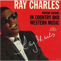 Ray Charles Signed Modern Sounds In Country And Western Music Album