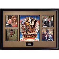 Mel Brooks signed Blazing saddles photo PSA