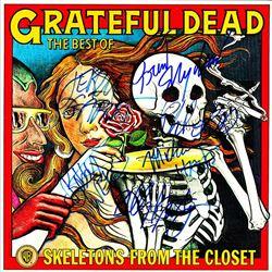 Grateful Dead Skeletons From The Closet signed Album
