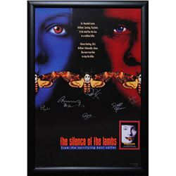 Silence of Lambs Signed Movie Poster