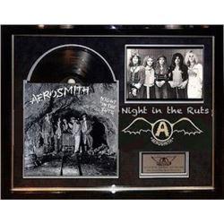 Aerosmith signed PSA album
