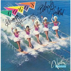 The Go Go's Band Signed Vacation Album