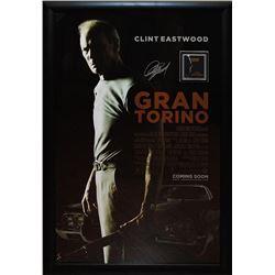 GRAN TORINO Signed Movie Poster