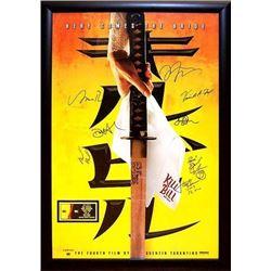 Kill Bill Vol 1 Signed Movie Poster