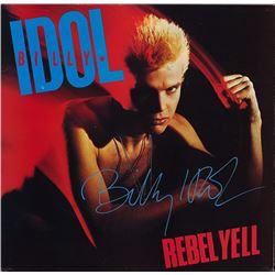 Billy Idol Rebel Yell signed Album