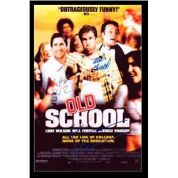 Old School Signed Movie Poster
