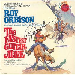 Roy Orbison The Fastest Guitar Alive signed Album