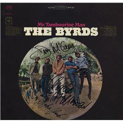 The Byrds Mr. Tambourine Man signed Album