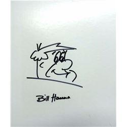 Original Fred Flintstone drawing by Bill Hanna 8x10