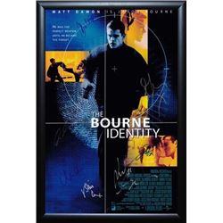Bourne Identity Signed Movie Poster