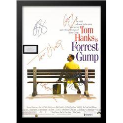 Forrest Gump Signed Movie Poster