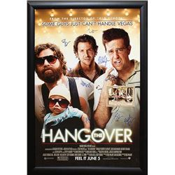 Hangover Signed Movie Poster
