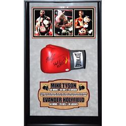 Mike Tyson/Holyfield signed glove PSA