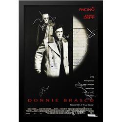 DONNIE BRASCO Signed Movie Poster