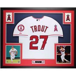 Mike Trout signed baseball Jersey JSA