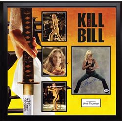 Kill Bill signed photo and movie collage