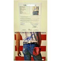 Bruce Springsteen signed Vinyl JSA