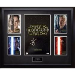 Stars Wars 12x14 Photo Signed by (4) With Harrison Ford BAS