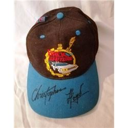 Back to the Future signed Hat JSA