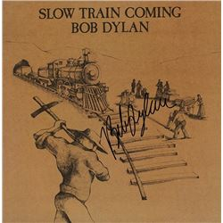 Bob Dylan Slow Train Coming signed Album