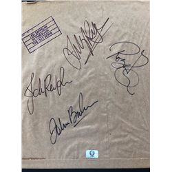 Autographed Led Zeppelin In Through the Out Door album