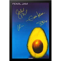 "Pearl Jam ""Avocado"" Signed Music Poster"