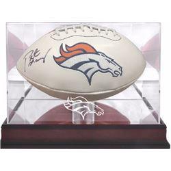 Denver Broncos Peyton Manning signed football
