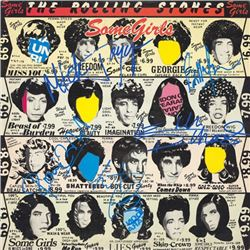 The Rolling Stones Some Girls signed Album
