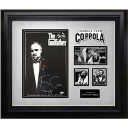 Godfather signed poster collage PSA