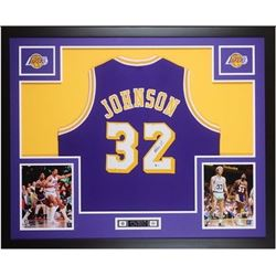 Magic Johnson  Autographed and framed