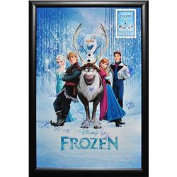 Frozen Signed Movie Poster