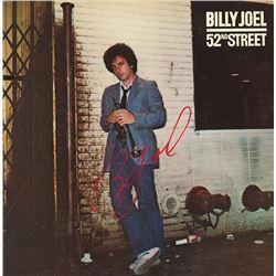 Billy Joel 52nd Street signed Album