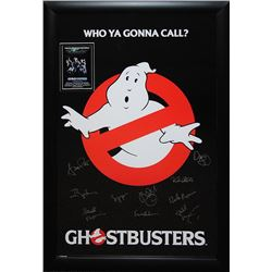 Ghostbuster Signed Movie Poster