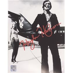 Playboy Jet Hugh Hefner signed Photograph 8x10